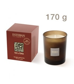 Teck Tonka scented candle rechargeable Esteban