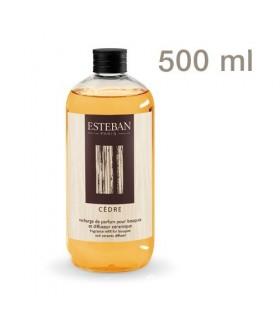 Cedre refill 500 ml Esteban