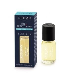 Lino & Petitgrain Aceite Esencial Esteban Parfums 15 ml