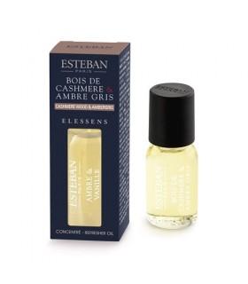 Madera de Cachemira y Ámbar Gris Aceite Esencial Esteban Parfums 15 ml