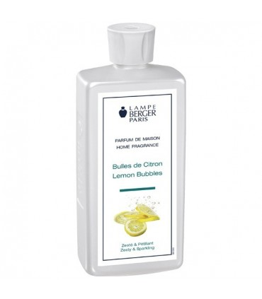Lemon Bubbles 500 ml Lampe Berger