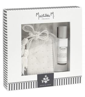 Caja de Regalo Cerámica + Spray 5 ml Fleur de Coton Mathilde M.