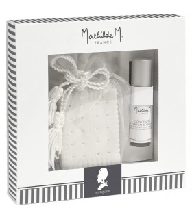 Gift Box Ceramic + Spray room 5 ml Marquise Mathilde M.