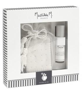 Caja de Regalo Cerámica + Spray 5 ml Poudre Riz Mathilde M.