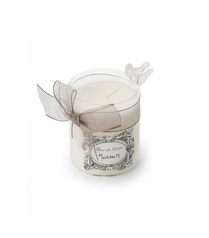 Mathilde M. cotton flower scented candle