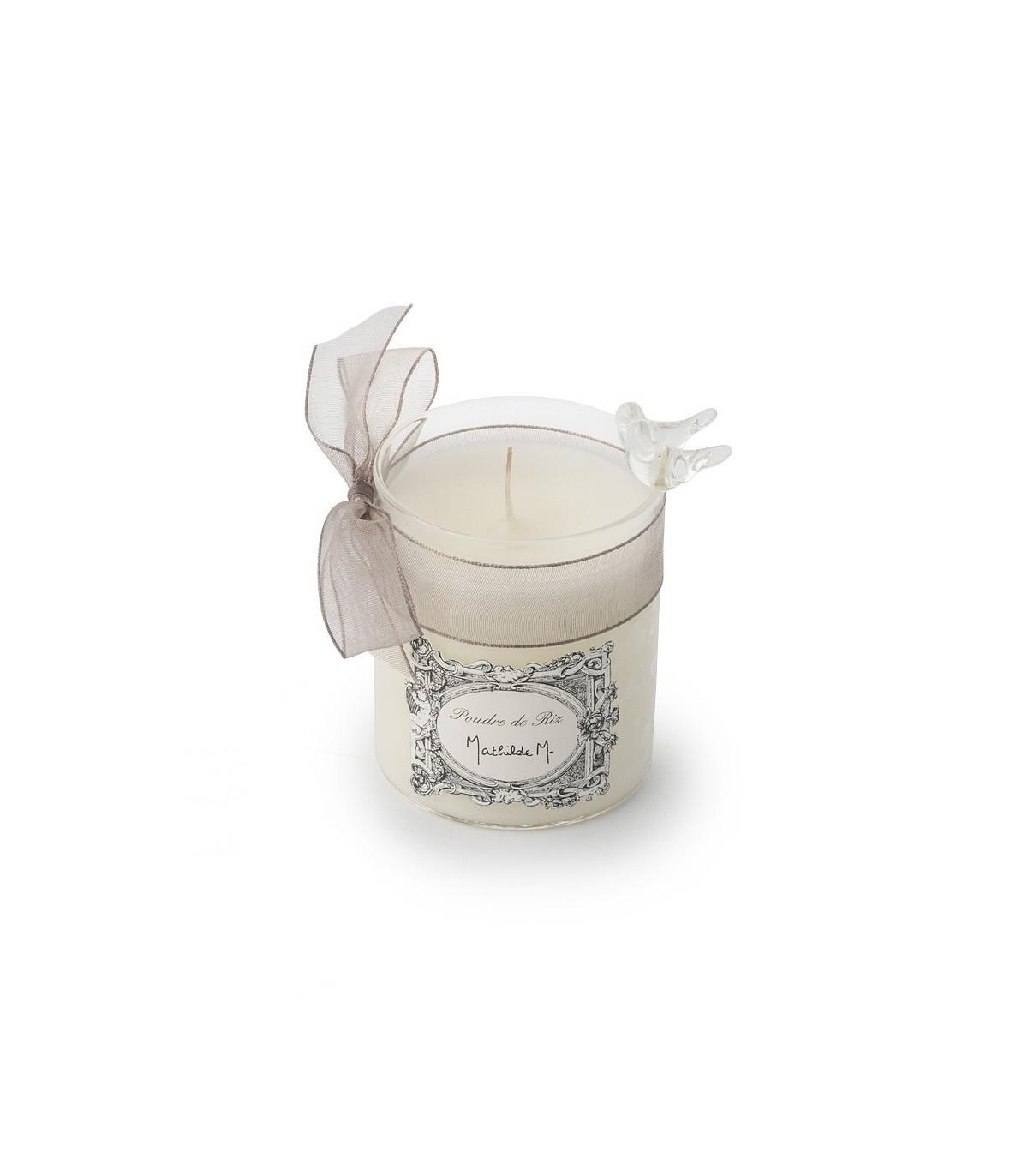 scented candle mathilde m poudre de riz. Black Bedroom Furniture Sets. Home Design Ideas