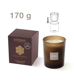 Légendes d'Orient refillable scented candle Esteban