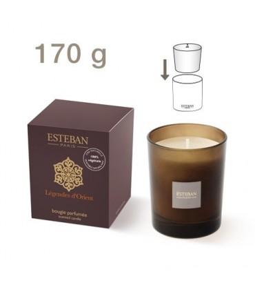 Légendes d'Orient refillable scented candle Esteban