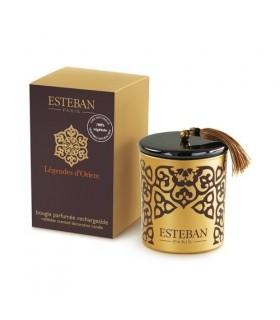 Légendes d'Orient Esteban rechargeable scented candle