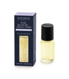 Rose blanche & Absolu d'Iris Concentrate  Esteban Parfums 15 ml