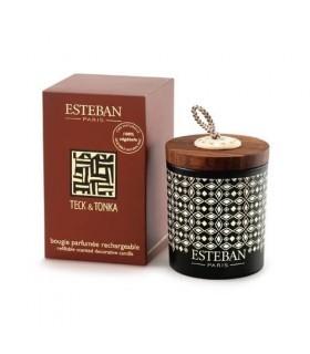 Teck Tonka Vela Perfumada Recargable Esteban
