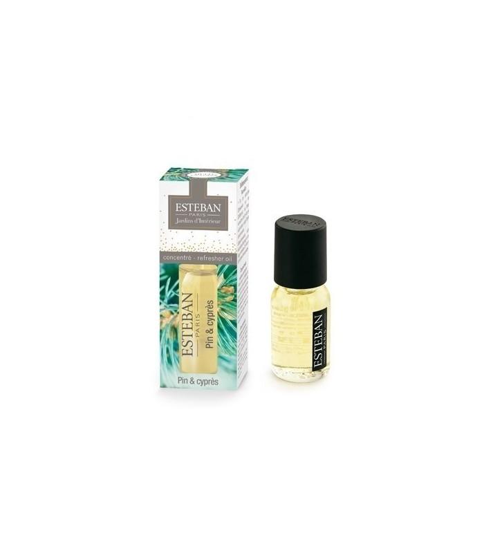 Pino y Ciprés Aceite Esencial Esteban Parfums 15 ml